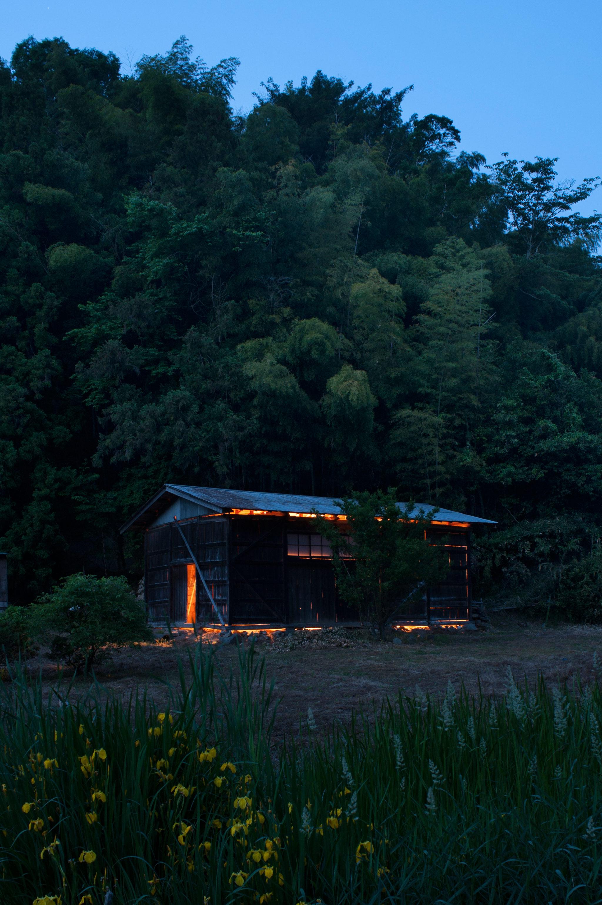 最も関わりのある場所 -光の庭-